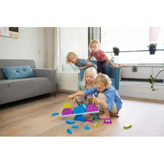 Balance Buddies - Jouet en bois pour apprendre l'équilibre