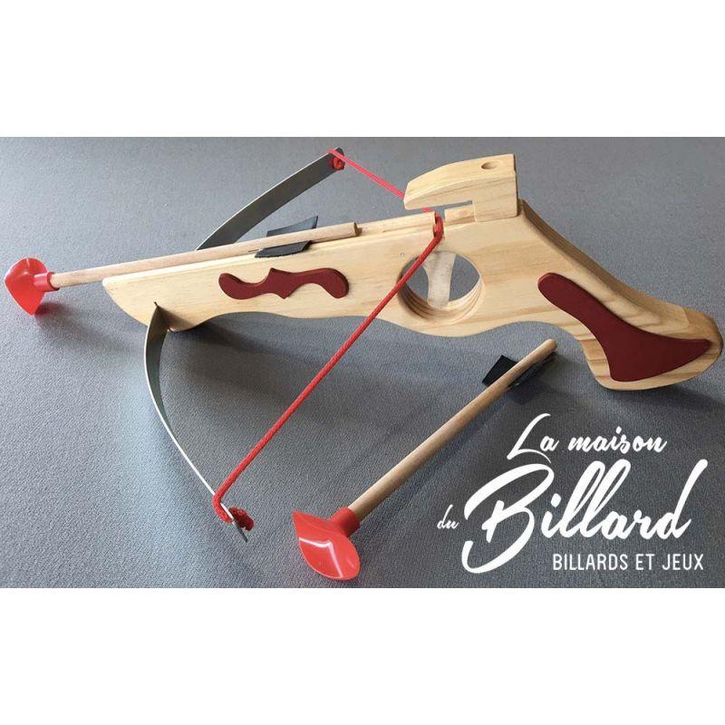 Tir fléchettes au pistolet en bois