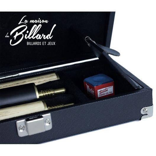 Coffret queue Snooker Luxe + allonges et Mallette