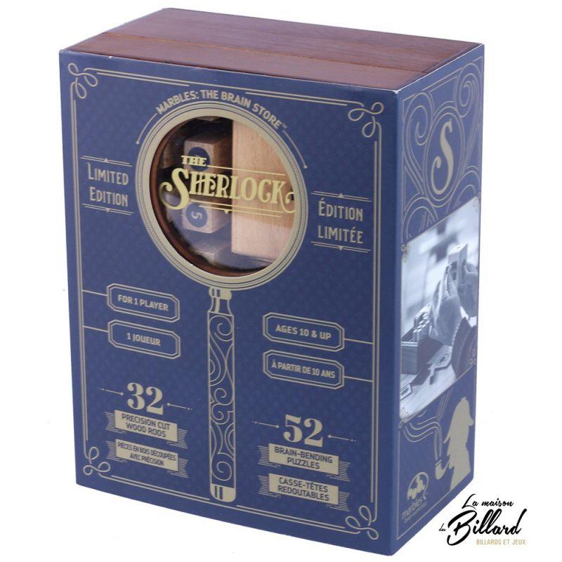 The Sherlock, un puzzle pour amateurs de beaux jeux.