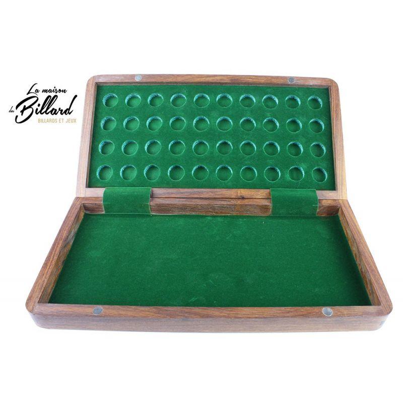 jeu de dames pliable avec rangement des pions