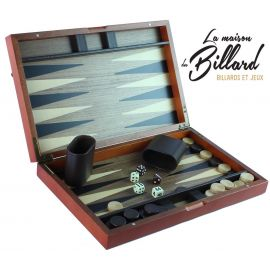 Backgammon marqueté