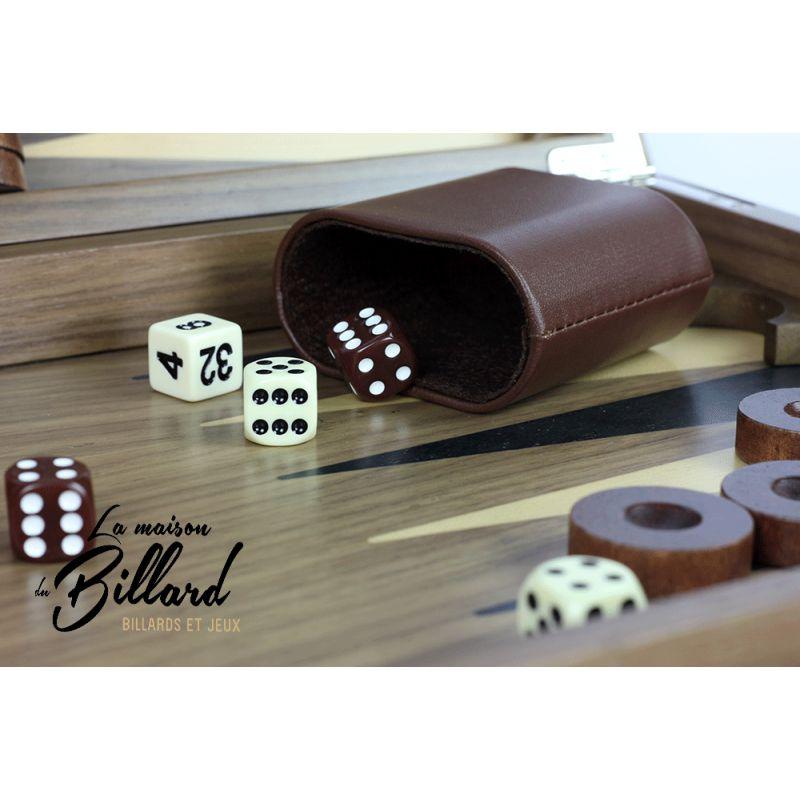 Mallette Backgammon Pro version LUXE
