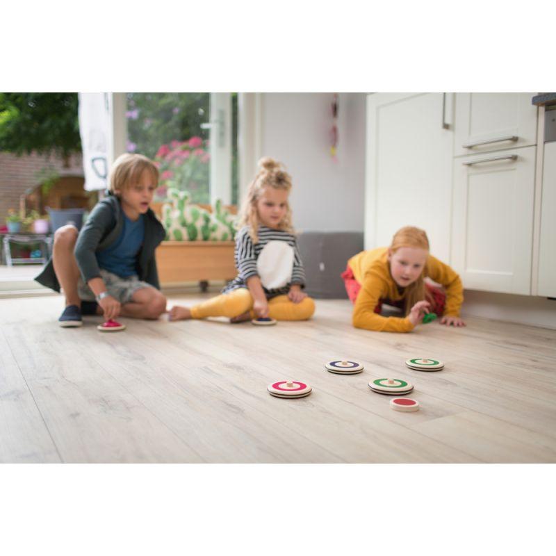 jouet en bois curling de maison