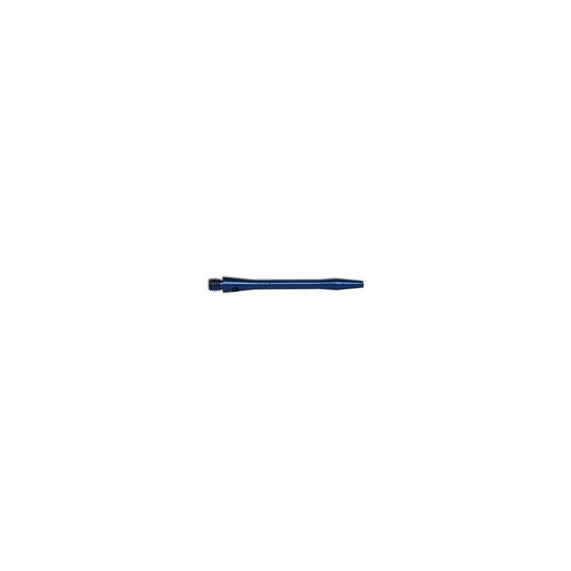 Shaft anodised aluminium Short Bleu