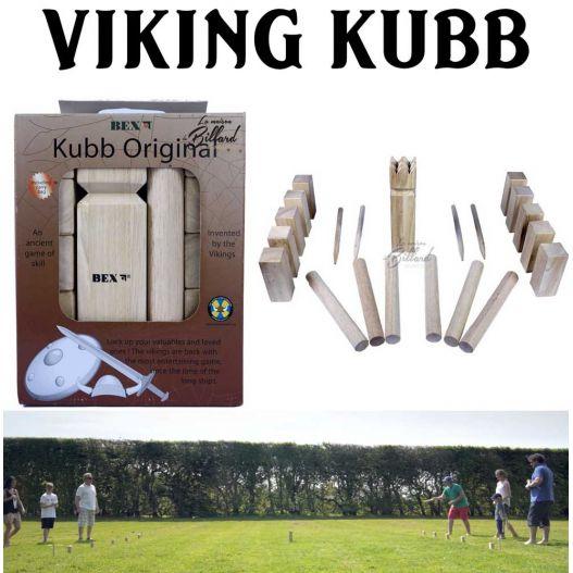 Jeu du roi Kubb