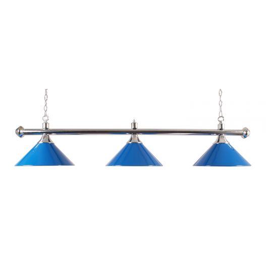Luminaire Bleue pour table de billard