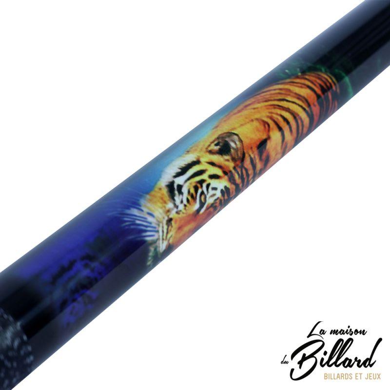 Queue billard tigre