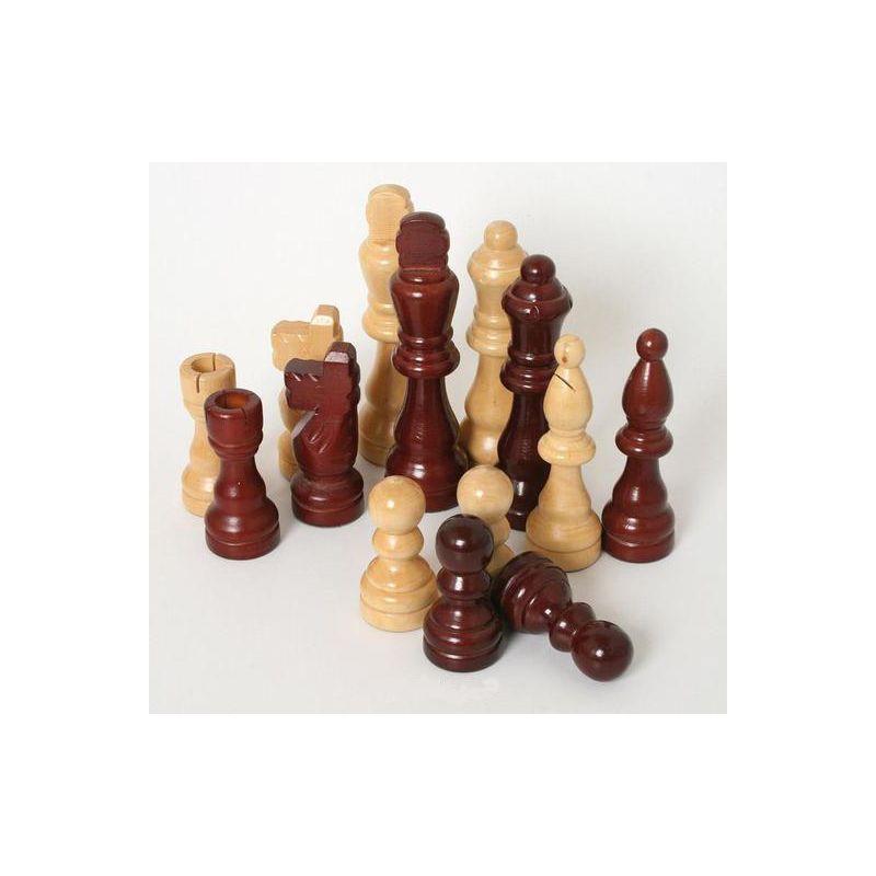 pièces échecs et dames accessoire table 3 en 1