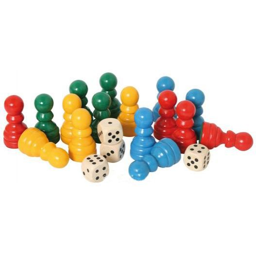 pièces ludo accessoire table 3 en 1