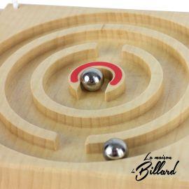 Jouet en bois massif : Circuits coopératifs  2 à 4 joueurs