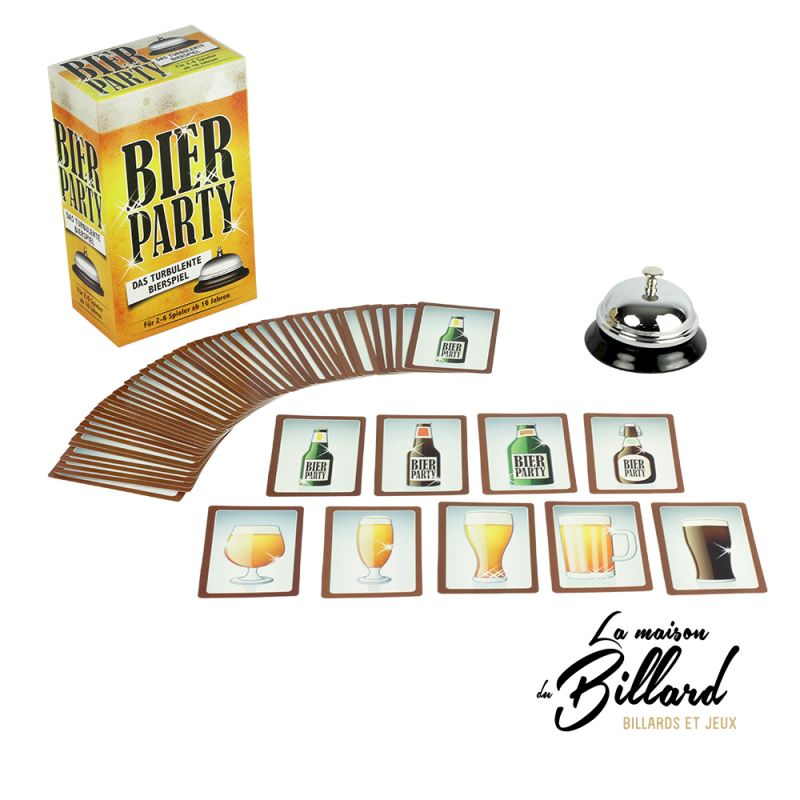 Bier party jeu carte apéro