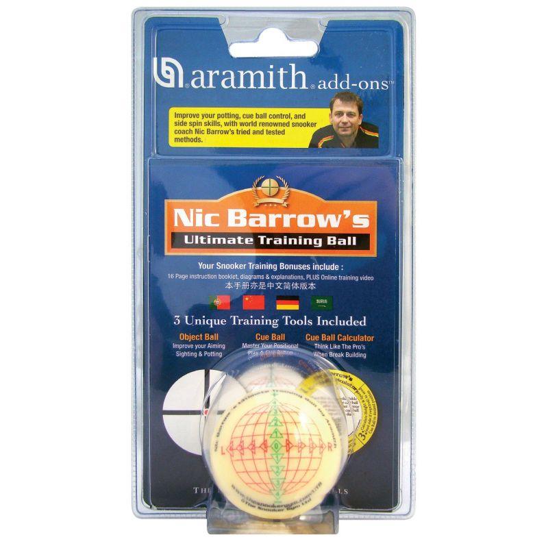 Bille d'entraînement 8 Pool et Snooker 52,5 mm Nic Barrow's
