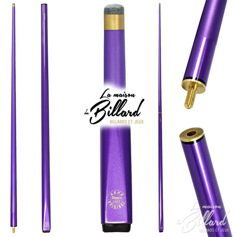 Queue billard violette
