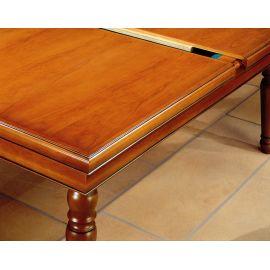 Plateau table LP à rabat extérieur avec moulure style Louis-Philippe