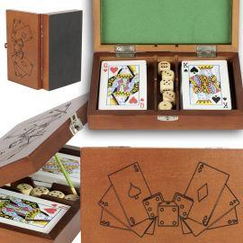 Coffret jeux de cartes