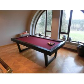 Billard table design noir