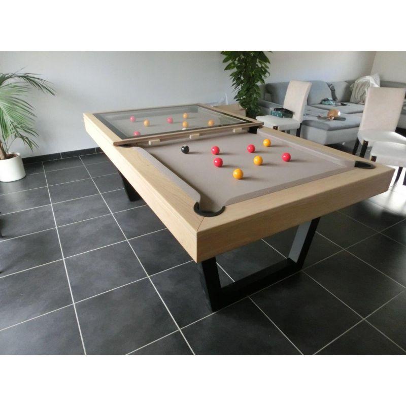 Billard avec plateaux table