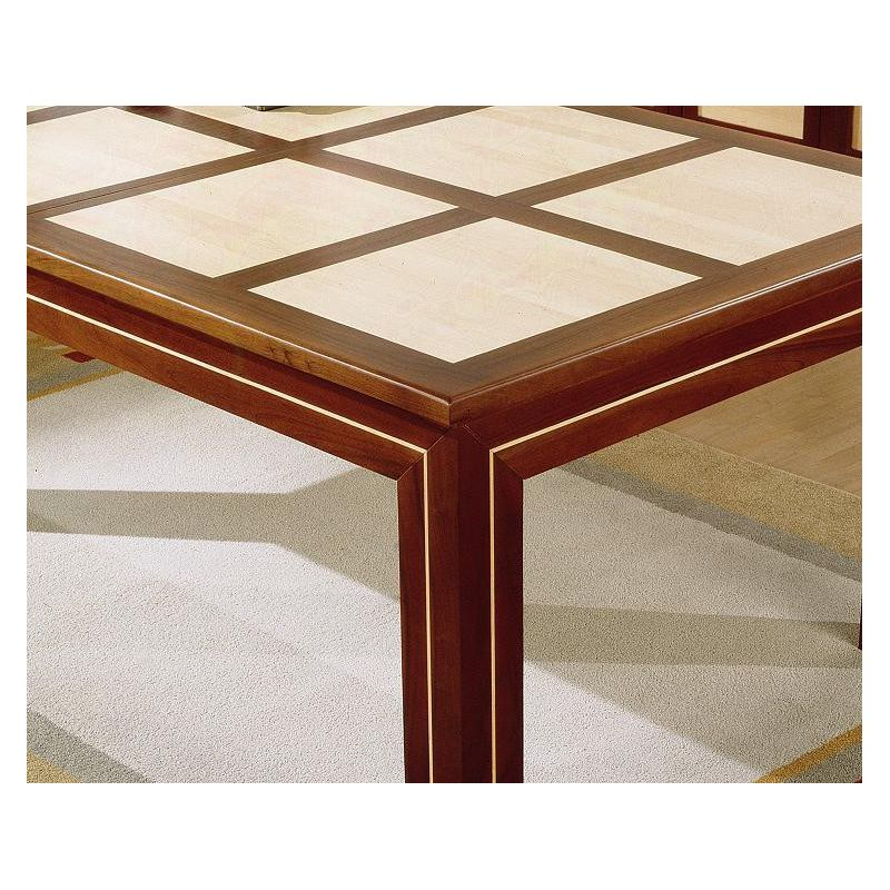 Plateau table nf rabat ext rieur droit d cor damiers for Plateau table exterieur