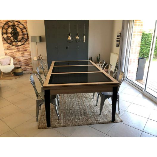 Table a manger billard industriel