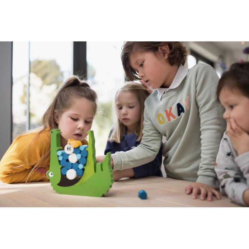 Miam Miam Croco Le jouet en bois indispensable pour votre enfant