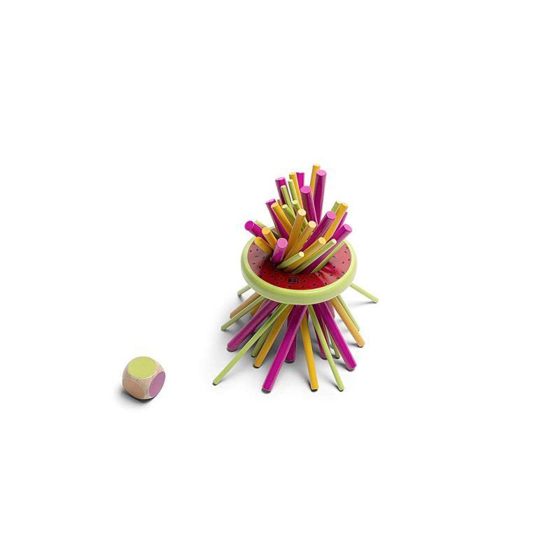 Jouet en bois mikado anneau