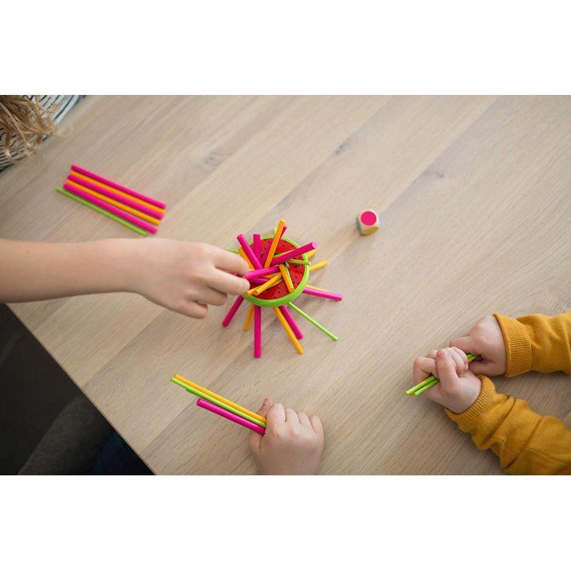 Le jouet en bois pour s'amuser avec Papa et Maman : Mikado Melon