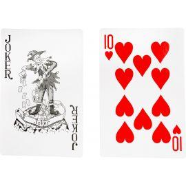 Jeux 54 cartes géants