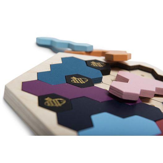 jeu en bois adultes puzzle ruche