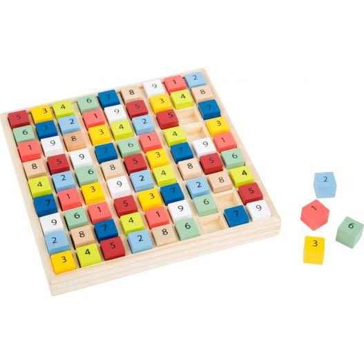 Sudoku en bois