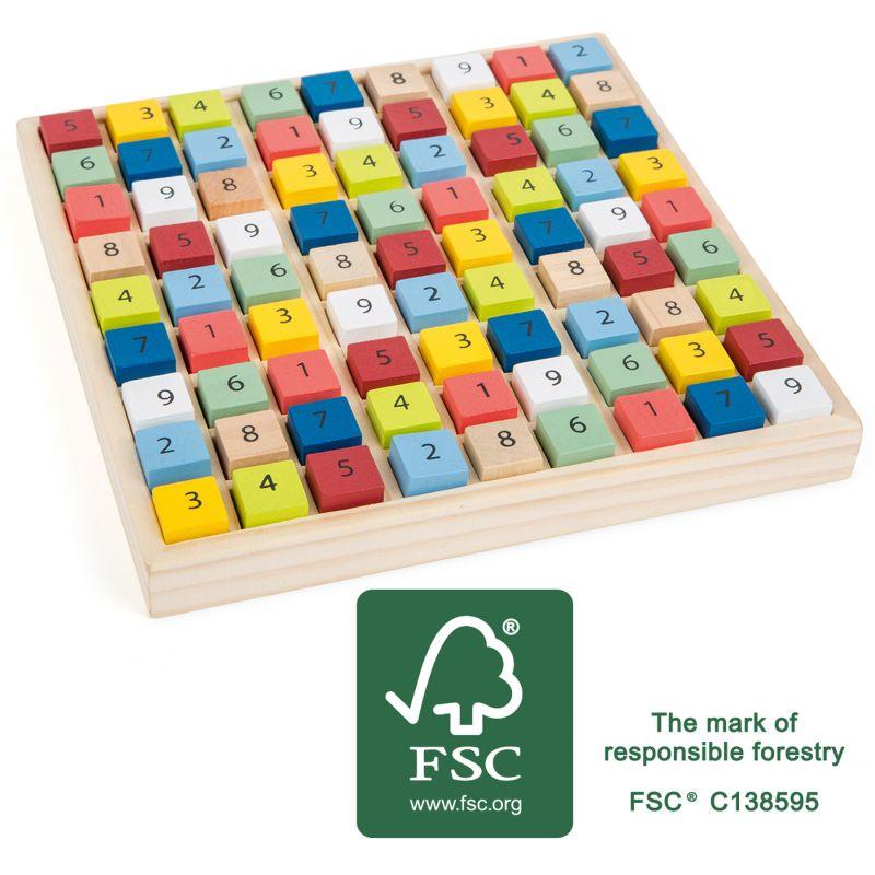 Sudoku en bois FSC