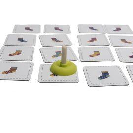cartes plastifiées croc socks
