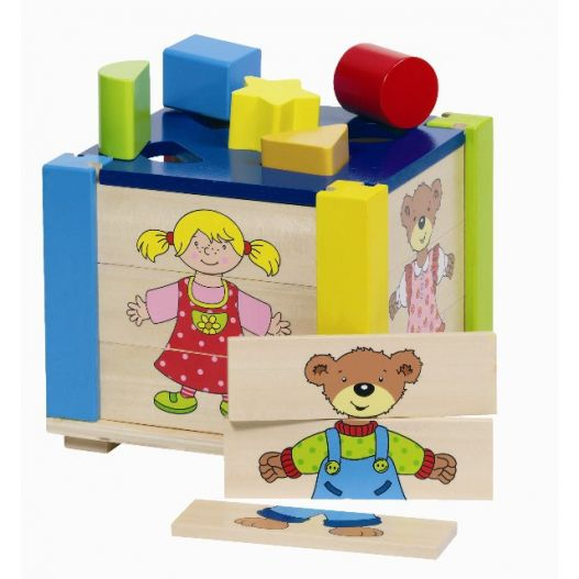 Boite à Formes puzzle - jouet en bois