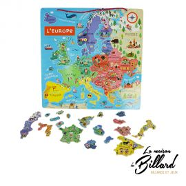 Cartes europe magnetique