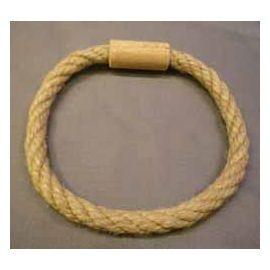 Anneaux en corde pour jeu en bois