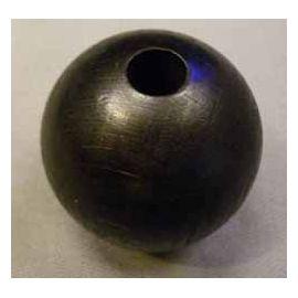 Perle noire pour Puissance 4 en 3D 45 mm ou solitaire en ligne