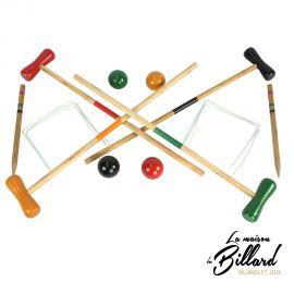 Jeu de croquet enfants 4 joueurs