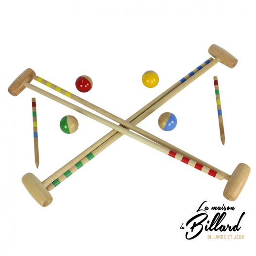 Jeu croquet made in france