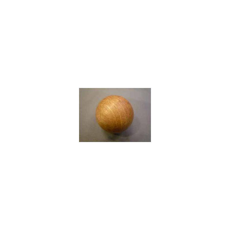 Boule en hêtre teintée 45 mm