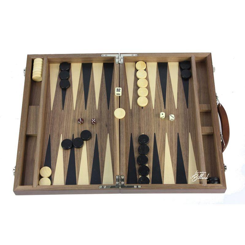 jeu en bois backgammon