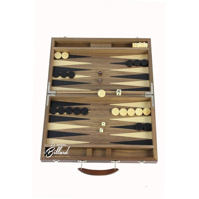 Mallette Backgammon
