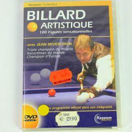 Déstockage : DVD Billard artistique