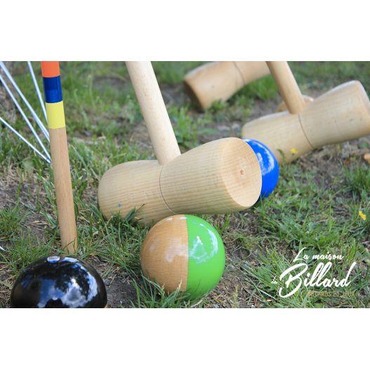 Croquet 6 joueurs adultes Fabricationfrançaise