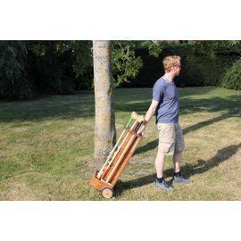 Chariot adulte pour jeu croquet
