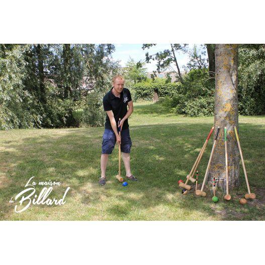 Croquet 6 joueurs adultes
