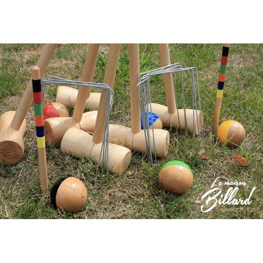 croquet 6 joueurs luxe