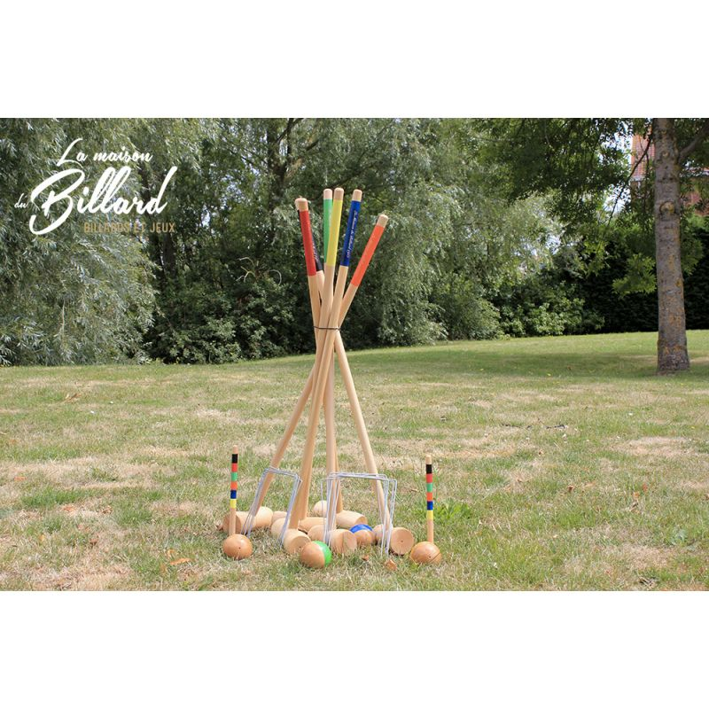 Jeu de croquet adulte