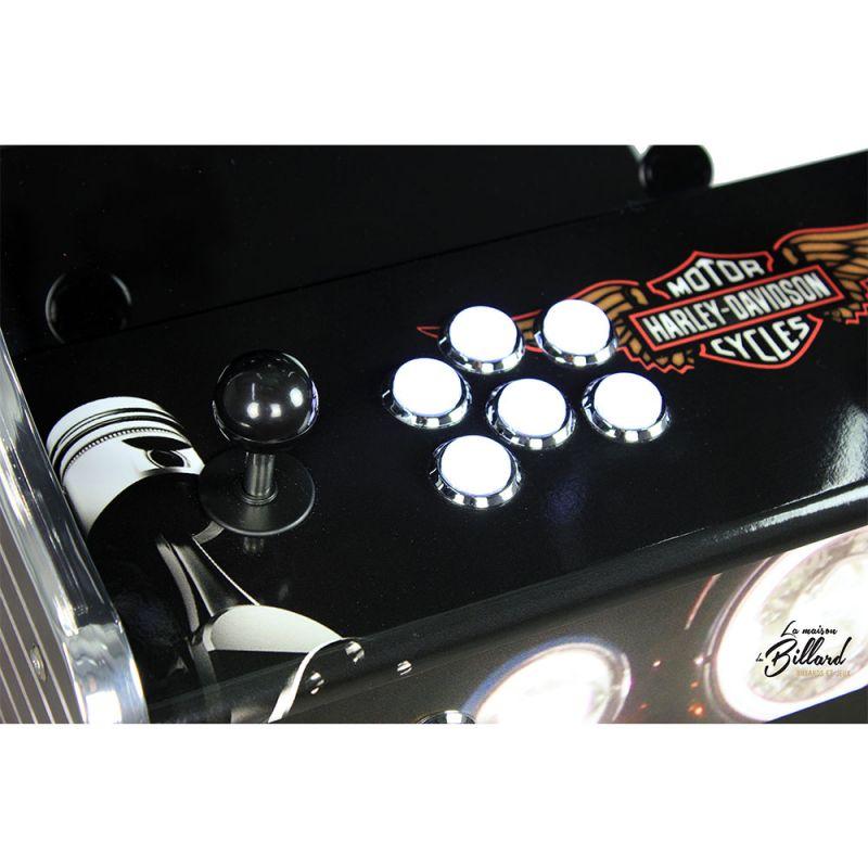 Clavier borne arcade harley davidson
