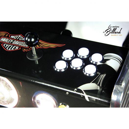 Clavier jeux vintage arcade harley davidson