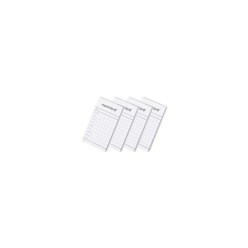 Carnet de marque jeu Minigolf